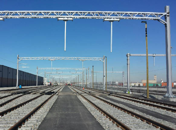 Light Rail Catenary Poles Structural Amp Steel Products