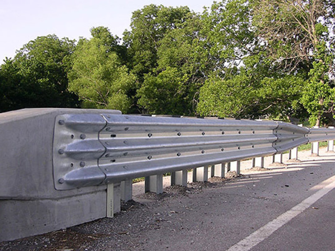 Guardrail and end treatments structural steel products