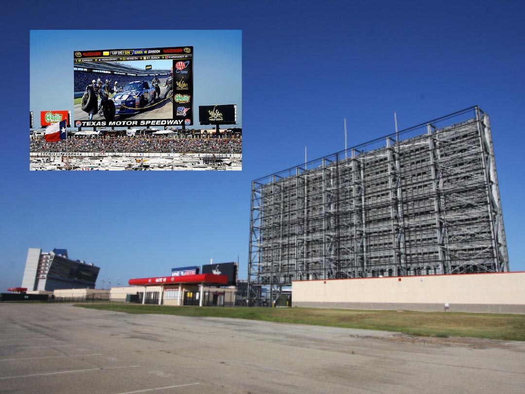 Big Hoss Texas Motor Speedway Fort Worth Structural fabrication