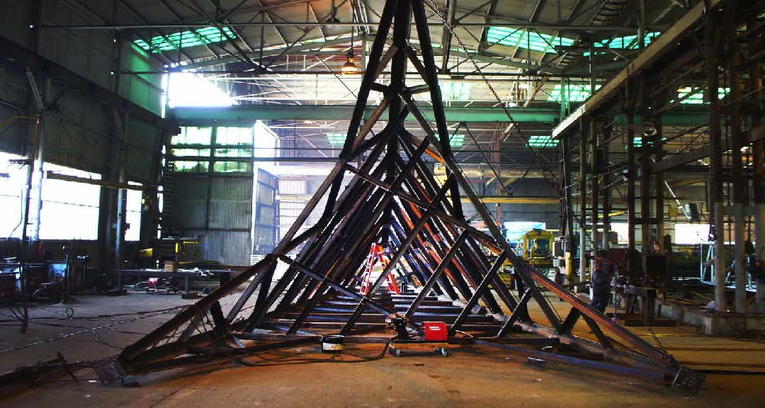 Structural and Steel Products In-House Fabrication Capailities