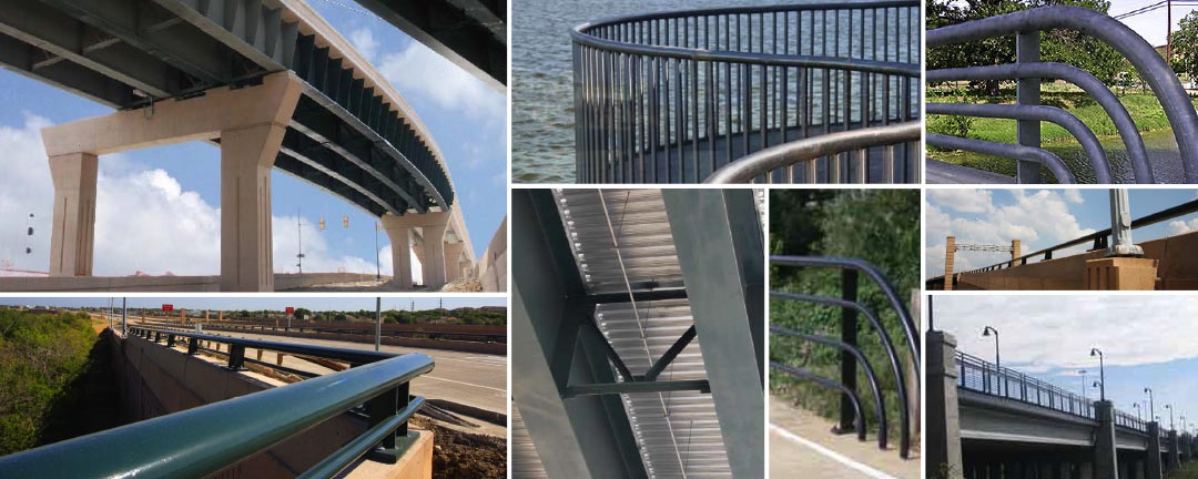 Bridge Decking & Railing - Structural & Steel Products